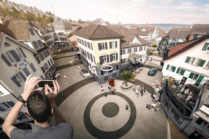 Neugestaltung Begegnungszone Richterswil