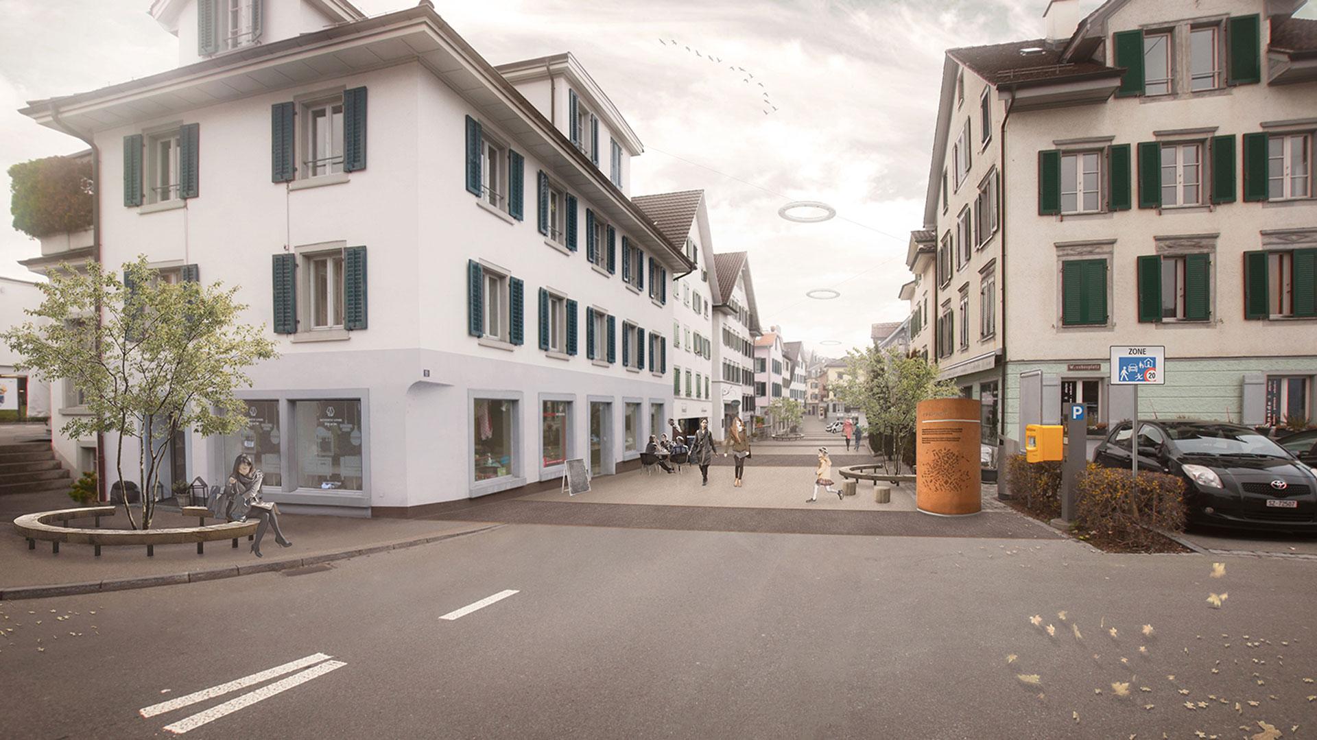 Visualisierung Dorfstrasse
