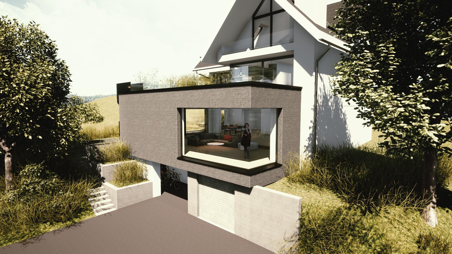 An- und Umbau EFH Richterswil